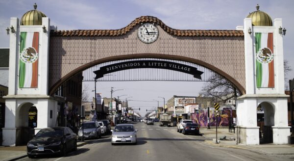 2019: La Villita Arch welcomes all to 26th Street, a thriving two-mile-long commercial corridor.