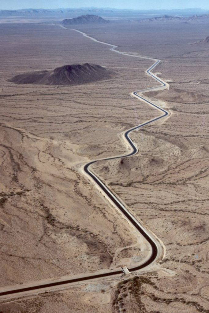 Completed in 1993, the Central Arizona Project provides Colorado River Water to Arizona