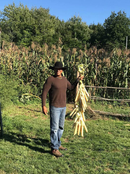 2019: Cassius Spears and the Narragansett Food Sovereignty Initiative are reviving traditional flint corn.
