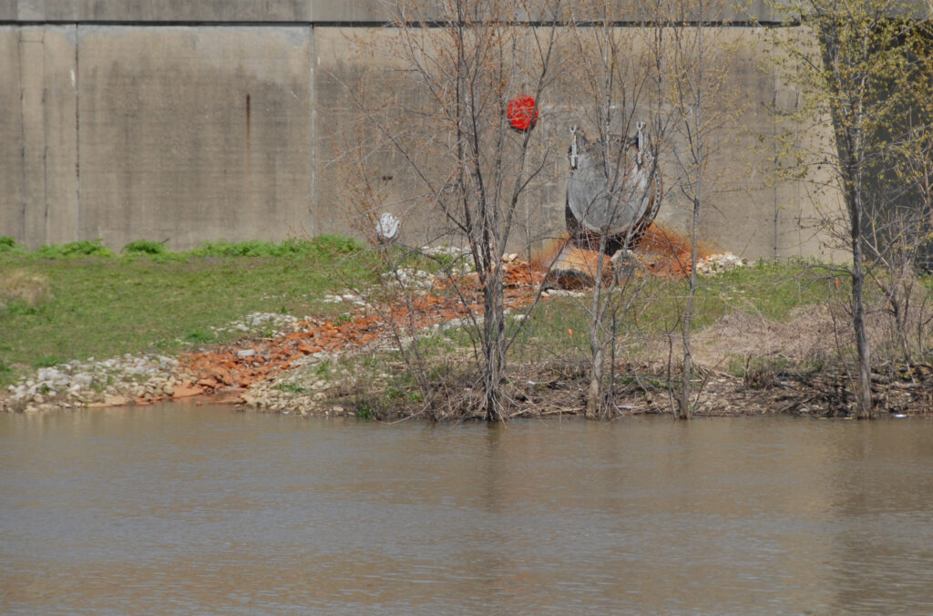 2019: Since the 1900s, rainwater overloads the combined sewer system, pushing human waste into the White River.