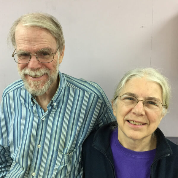 Nancy Zak has worked with ICC for 40+ years; her husband, Arnold Cohen, works in affordable housing and EJ.