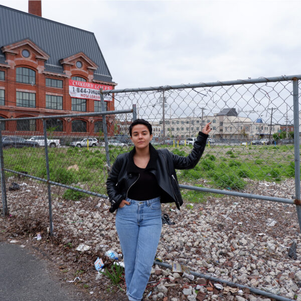 Ironbound resident Medinilla Soares introduces us to some of the brownfield sites in her neighborhood.