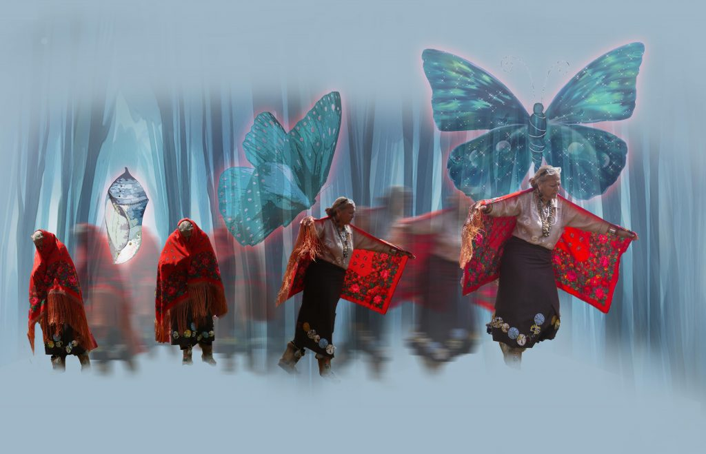 "The traditional Lenape Butterfly Story: ""You can't help but change…"""