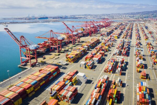 In 2019, the Ports of Long Beach and LA were the busiest in the nation, and ninth in the world.