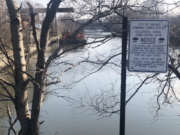 2019: Toxic waterways like the Collateral Canal in La Villita pose a threat to the community.