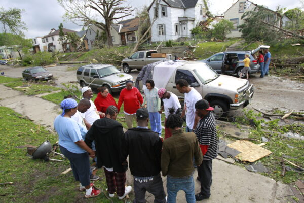 2011: North Minneapolis residents address tornado damage after slow, inadequate government response