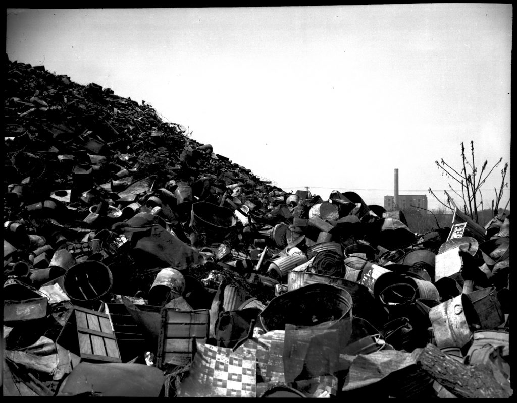 1939: Agriculture Street Landfill, 1939. WPA Photography Collection.