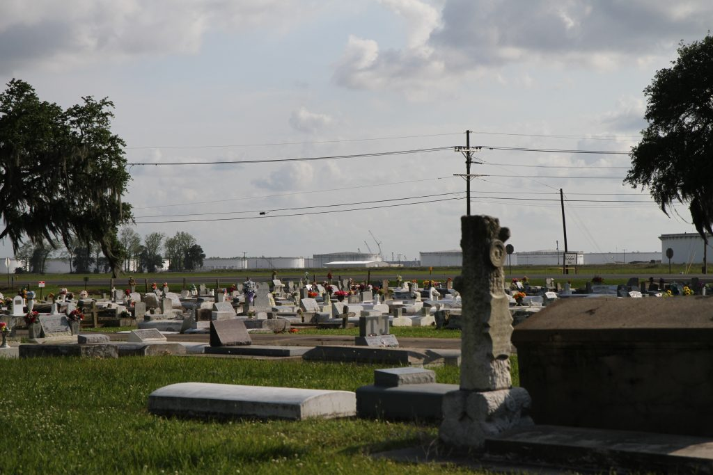 2019: Cemetery in St. James, LA.