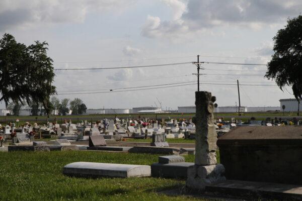 2019: Cemetery in St. James, LA.